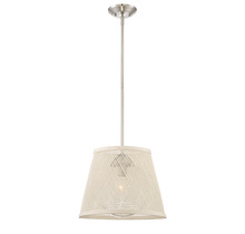 Savoy House 7-1140-1-SN - Messina 1 Light Outdoor Pendant