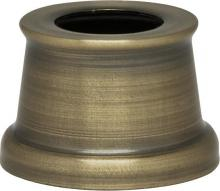 "Satco Products Inc. 90/2275 - Flanged Steel Necks 7/16"" Hole-9/16"" Height 11/16"" Top-7/8"" Bottom Ant. Brass"