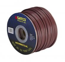 Satco Products Inc. 93/128 - Bulk Wire; 18/2 SPT-2 105°C; 250 Foot Spool; Brown