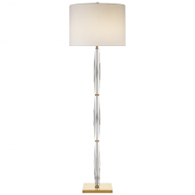 Visual Comfort KS 1071CG-L - Castle Peak Narrow Floor Lamp in Crystal with Cr