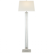 Visual Comfort S 1702PN-L - Wright Large Floor Lamp in Polished Nickel with