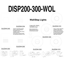 Dainolite DISP200-300-WOL - Display-DLEDW200/300 Series w/o Lights