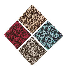 Dainolite DWA014 - 4pcs Set Blooming Rose Suede on Silk