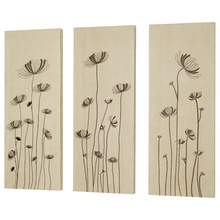 Dainolite DWA015 - 3 pcs Set Dandelion Embroidery On Suede