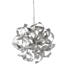 Dainolite WAY-177LP-SV - 7LT Pendant Twisted Metals