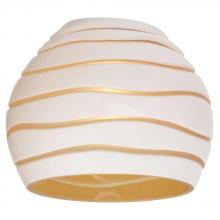 Sea Gull 94392-6135 - Ambiance Blanca Amber Directional Mini-Glass Shade