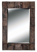 Kenroy Home 61002 - Birch Bark Wall Mirror