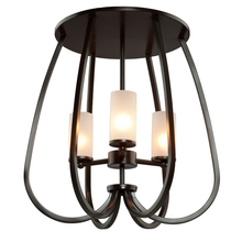 Artcraft AC10023OB - Milbrook Oil Rubbed Bronze Semi Flush