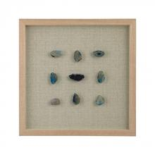 Dimond 3168-021 - Blue Agate Shadow Box