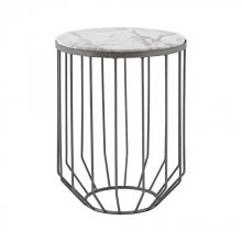 Dimond 8990-038 - Helm Accent Table In Zinc