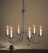 Hubbardton Forge - Canada 101160-SKT-05 - Simple Sweep 6 Arm Chandelier