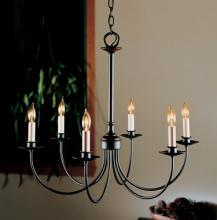 Hubbardton Forge - Canada 107060-SKT-08 - Simple Lines 6 Arm Chandelier