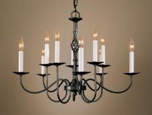 Hubbardton Forge - Canada 108100-SKT-10 - Twist Basket 10 Arm Chandelier