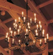 Hubbardton Forge - Canada 191548-SKT-03 - Ball Basket 21 Arm Chandelier