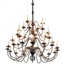 Hubbardton Forge - Canada 191572-SKT-10 - Ball Basket 36 Arm Chandelier