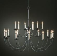 Hubbardton Forge - Canada 197144-SKT-03 - Simple Lines 18 Arm Chandelier