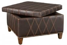 Uttermost 23005 - Uttermost Wattley Double Stitched Storage Ottoman