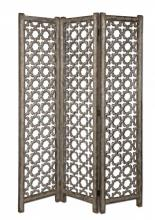 Uttermost 24181 - Uttermost Quatrefoil Burnished Floor Screen