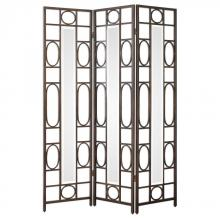 Uttermost 24625 - Uttermost Keagan Iron Floor Screen