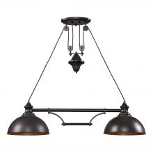 ELK Lighting 65150-2 - Farmhouse 2 Light Island In Oiled Bronze