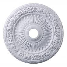 ELK Lighting M1006WH - Floral Wreath 24-Inch Medallion In White