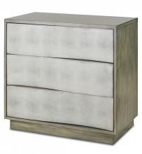 Currey 3238 - Wave Three Drawer Chest