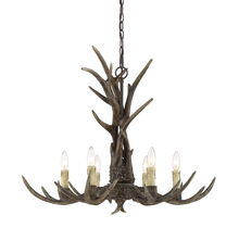 Savoy House 1-40017-6-56 - Blue Ridge 6 Light Chandelier