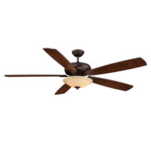 "Savoy House 68-227-5WA-129 - 68"" One Light Espresso Ceiling Fan"