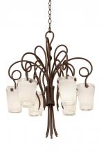 Kalco 4289AC/ANTQ - Tribecca 6 Light Chandelier