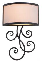 Kalco 7480SV - Concord 2 Light ADA Wall Sconce