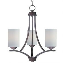 Maxim 20033SWOI - Deven 3-Light Chandelier