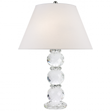 Visual Comfort RL14040PN-S - Daniela Table Lamp in Crystal with Silk Shade