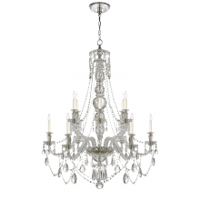 Visual Comfort RL 5006CG - Daniela Medium Two-Tier Chandelier in Crystal