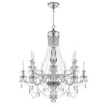 Visual Comfort RL 5008CG - Daniela Two-Tier Chandelier in Crystal