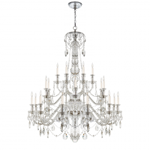 Visual Comfort RL 5010CG - Daniela Twenty Four-Light Chandelier in Crystal