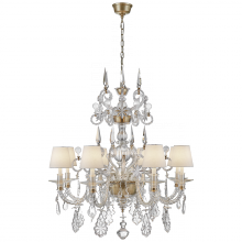 Visual Comfort RL 5262CG-L - Alexandra Large Chandelier in Crystal Glass and