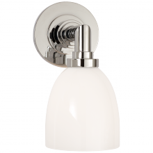 Visual Comfort SL 2841PN-WG - Wilton Single Bath Light in Polished Nickel with