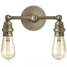 Visual Comfort SL 2932AN - Boston Functional Double Light in Antique Nickel