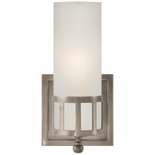 Visual Comfort SS 2011AN-FG - Openwork Single Sconce in Antique Nickel with Fr