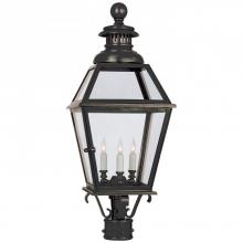Visual Comfort CHO 7111BZ - Chelsea Large Post Lantern in Bronze