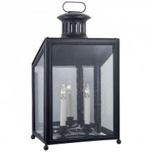 Visual Comfort RL 2801AI-RG - Mills Medium Wall Lantern in Aged Iron with Rest