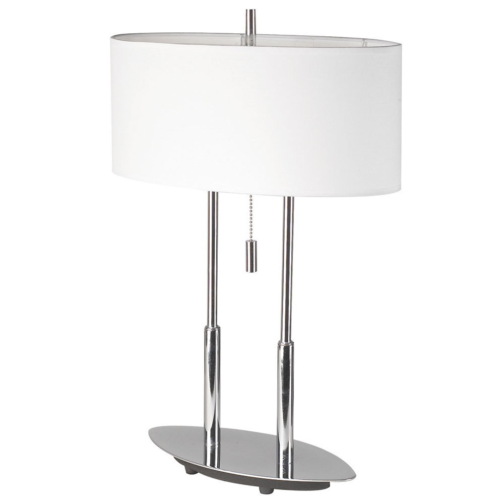 Robinson Lighting in Winnipeg , Manitoba, Canada,  25ZCG, Table Lamp, Oval Shade,