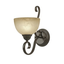 Golden Canada 1567-1W PC - 1 Light Wall Sconce