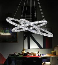 Crystal World 5080P32ST-3R - LED  Chandelier with Chrome finish