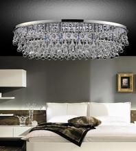 Crystal World 5422C36C-O - 10 Light Chrome Flush Mount from our Atlantic collection