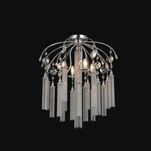 Crystal World 5622C24C - 7 Light Chrome Flush Mount from our Chloe collection