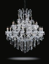 Crystal World 8318P50C-20+15+5+1 (Clear)-B - 41 Light Up Chandelier with Chrome finish