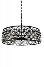 CWI Lighting 9862P32-8-101 - 8 Light  Chandelier with Black finish