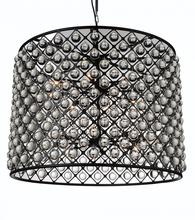 Crystal World 9862P36-16-101 - 16 Light  Chandelier with Black finish