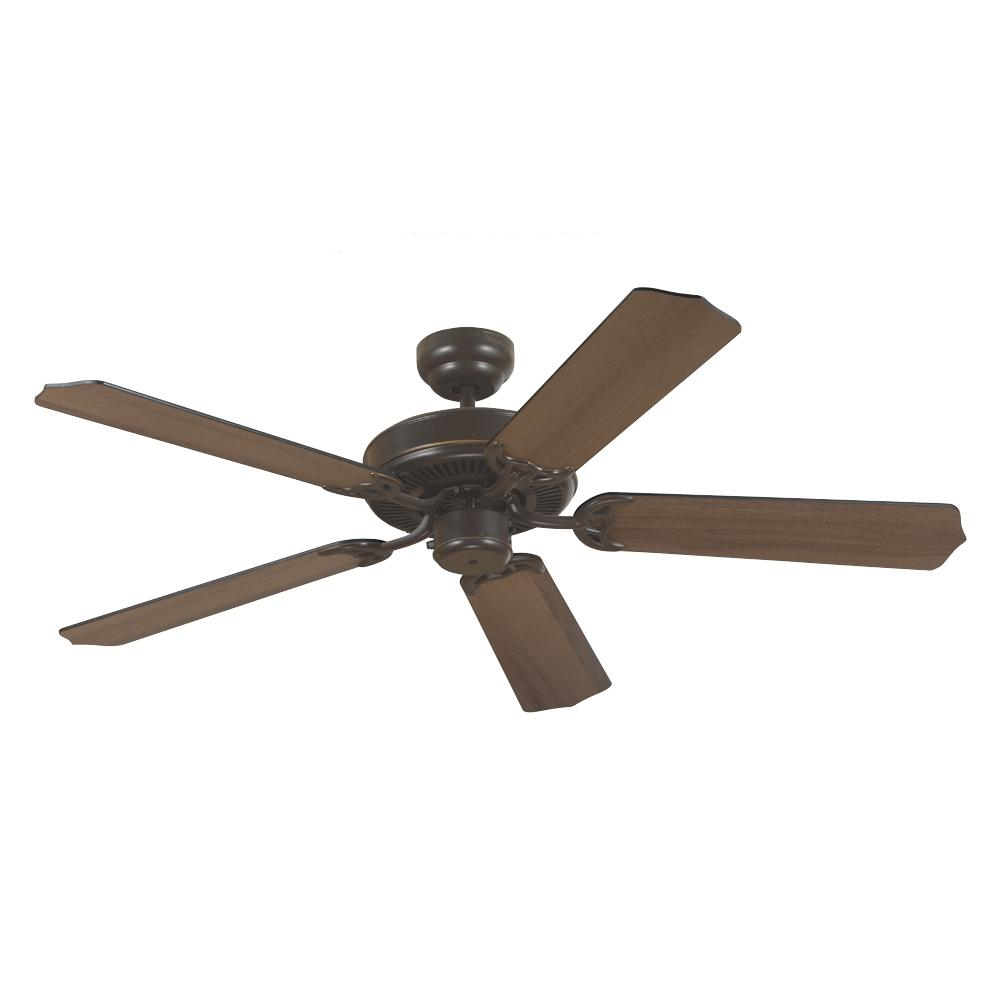 Robinson Lighting in Winnipeg , Manitoba, Canada,  WPN8, Quality Max Ceiling Fan in Heirloom Bronze with Cerused Oak/Ebony Blades, Quality Max
